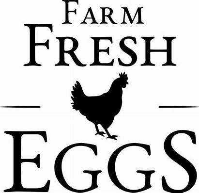 Farm Eggs Fresh Svg Chicken Vinyl Silhouette