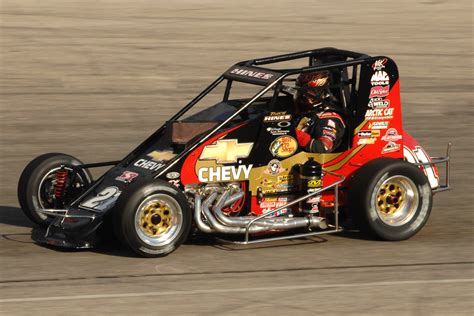 Kinds Of Race Cars by Tracy Hines Opens The 2013 Usac Season At New