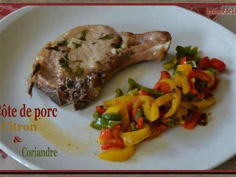 cote cuisine fr3 recette recettes de côte de porc et citrons