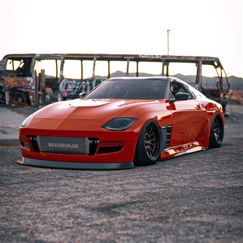 Nissan 400Z Concept Gets Widebody and Rocket Bunny ...