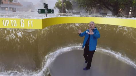 weather channel hurricane reality storm graphic florence unique dangerous did edition inside