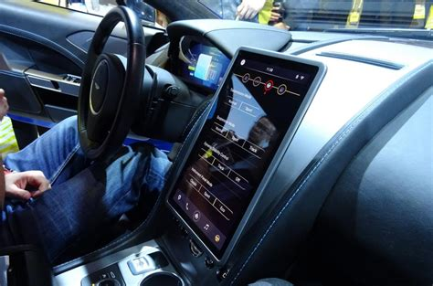 Aston Martin's Autolink Rapide S Previews A Connected