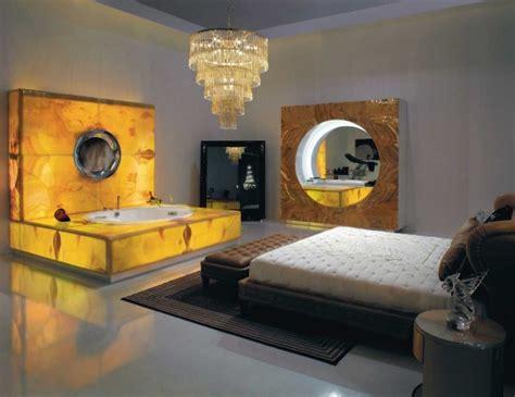 Backlight Spa Bath  Fireplace Modern Bathroom