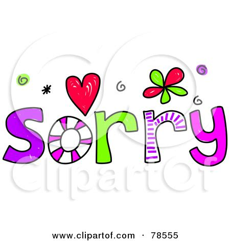 Sorry Clipart I M Sorry Clipart Clipart Kid