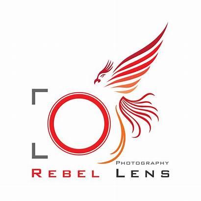 Lens Rebel Icon Designer Photographer Brand Creative
