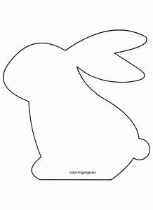 felt easter bunny pattern pinteres With bunny template for sewing