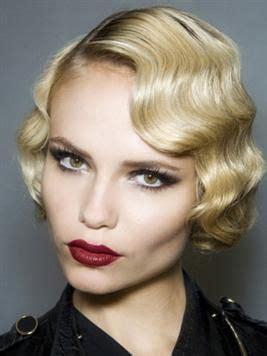 cute vintage hairstyle   ziger jahre