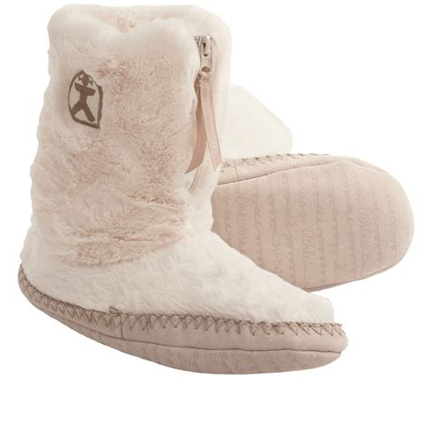bedroom athletics marilyn boot slippers for women save 30