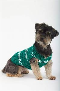 Dog Sweaters Knitting Patterns