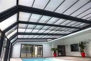 Abri Haut Piscine : abri haut mural ou adosse abrisud equipement piscine seine ~ Premium-room.com Idées de Décoration
