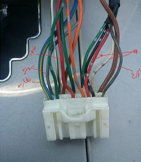Default Toyota Camry Radio Wire Yotatech Forums