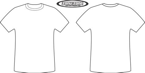 Tshirt Template Png by Faris S Kaos T Shirt Template