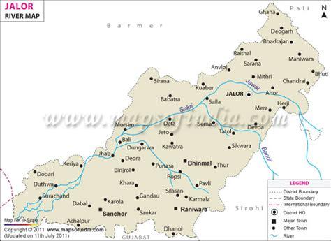 jalor river map