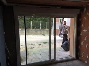 baie vitree volet roulant pour remplacer porte garage With baie vitrée volet roulant pour remplacer porte garage