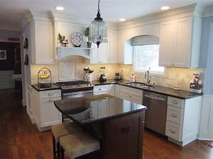 make a small kitchen feel big storage design ideas With kitchen colors with white cabinets with make a window sticker