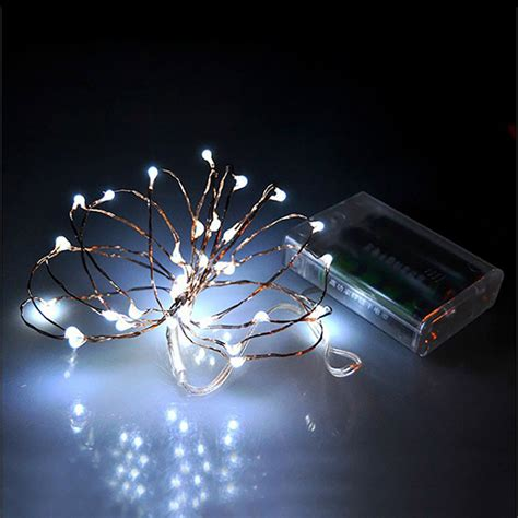 2m 20 led battery led string light 3pcs aa battery