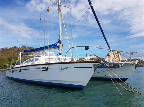 Used Catamaran Hull For Sale by The Multihull Company Used Catamarans For Sale 41 45