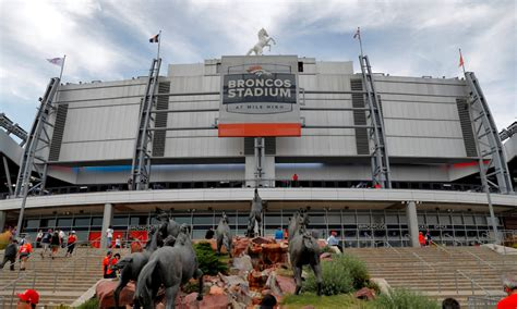 Known now as broncos stadium at mile high, the name change will stay in place until an actual there will be some new signage going up that highlights the new name, but ultimately the stadium is. Denver Broncos news: Twitter reacts to new stadium name