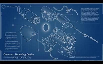 Portal Blueprints Gun Diagram Earth Font Laboratories