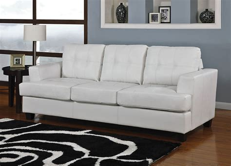 white leather sofa and chair white leather sofa bed