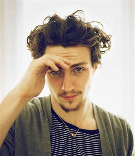 mens curly hairstyle ideas  inspirations