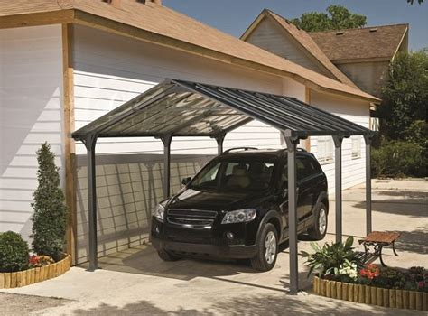 Die Alternative Zur Garage Das Tepro Carport Vanguard 5000