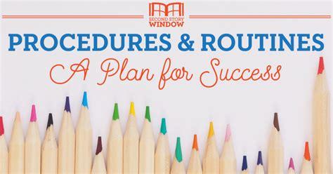 Establishing Classroom Procedures : A Plan for Back-to ...