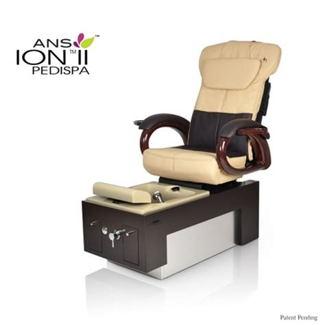 ans ion ii pedicure spa with human touch ht 044
