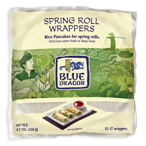 roll wrappers blue dragon ingredients source atlantique