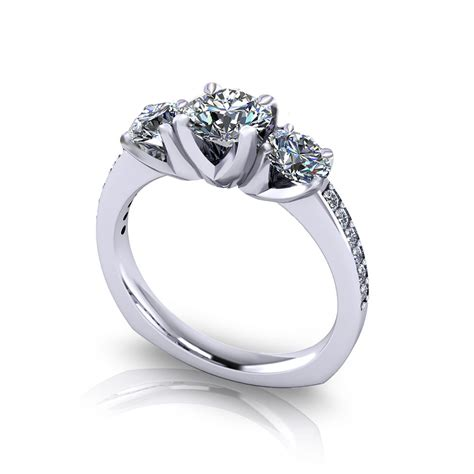 engagement ring designs classic three engagement ring jewelry designs