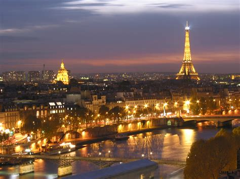 paris paris france  night