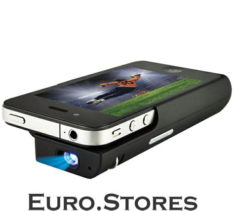 Logilink Mobile Mini Projector For iPhone 4 4S Smartphone