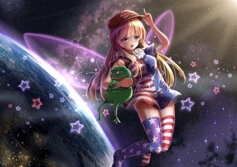 wallpaper clownpiece touhou fairy wings blonde earth