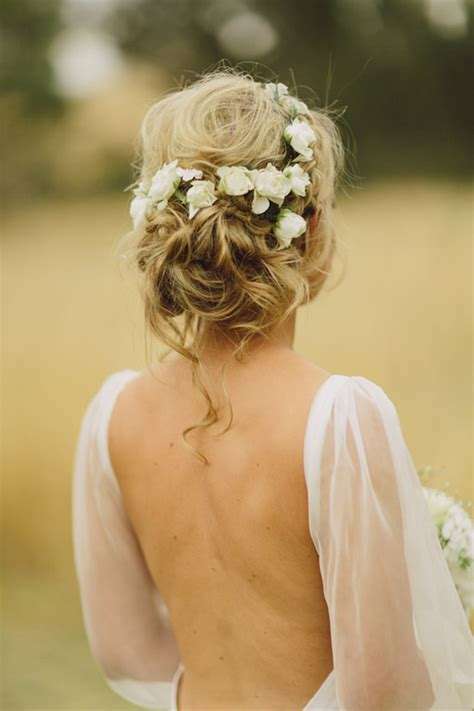 Wedding Hairstyles 15 Fab Ways To Wear Flowers In Your