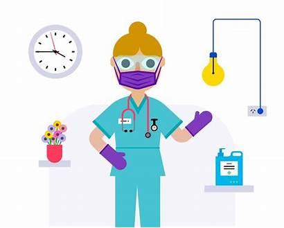 Infection Control Equipment Hospital Care Healthcare Nurse