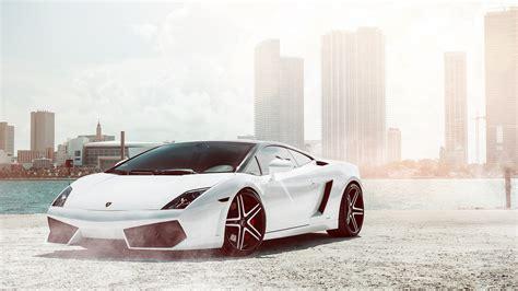 Car Hd Wallpaper For Pc by Lamborghini Gallardo White Wallpaper Hd Car Wallpapers