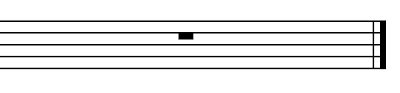 Music a double vertical or heavy black line drawn through a staff to indicate the end of any of the main sections of a composition. Music Theory: Measures and Bar Lines