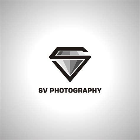 sv photography logo  logo identity project  svphoto