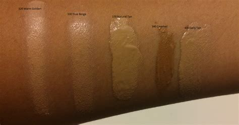revlon colorstay whipped foundation swatches  review