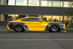 Ford Mustang widebody kit S550 wide body kit by Clinched