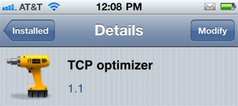 Best Tcp Optimizer Settings Jailbreak Tweak Claims To Improve Idevice Network