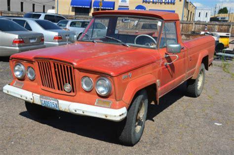 jeep gladiator 1966 1966 jeep gladiator pickup truck v8 stock original