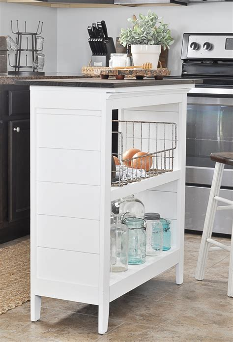How To Make A Kitchen Island  Decorating Your Small Space