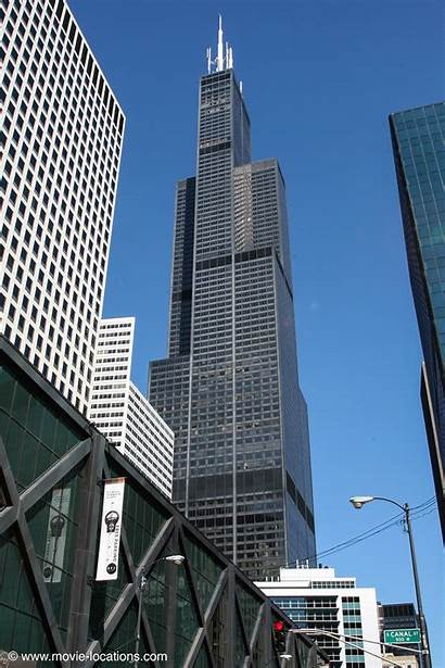 Knight Dark Tower Chicago Film Gotham Location