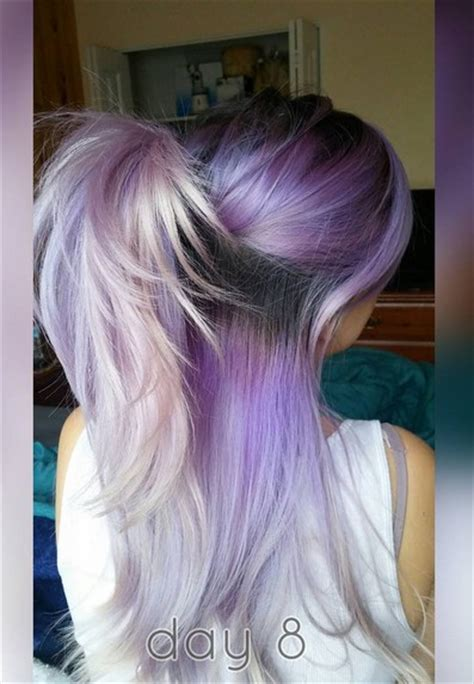purple ombre hair color ideas popular haircuts