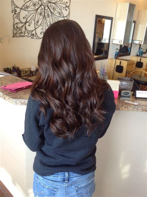 Brown Brown Hair by Chocolate Brown Hair Color Niki Nachodsky Hair