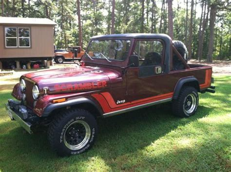 Sell Used 1982 Scrambler, Original In Troup, Tx, United States