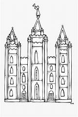 Church Coloring Lds Temple Clip Clipart Clipartkey sketch template