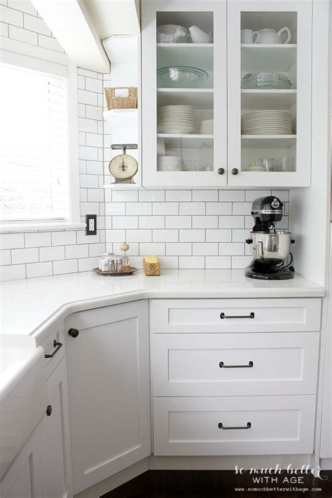 Industrial Vintage French Kitchen   Before and After with
