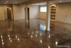 how to make cement floors more appealing diy projects With how to finish a concrete basement floor